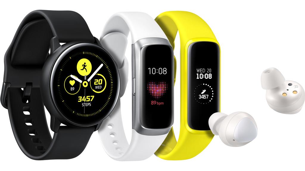 Permalink to Samsung redobla esfuerzos en wearables: llegan los auriculares Galaxy Buds y los cuantificadores Galaxy Fit y Galaxy Active