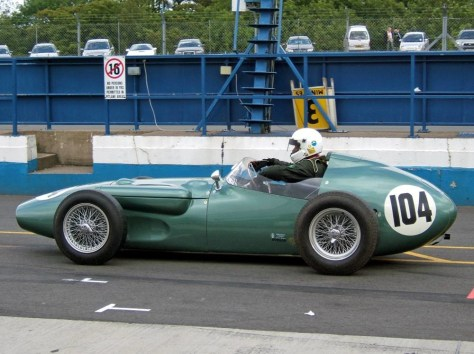 Aston Martin Dbr4 Donington Pits