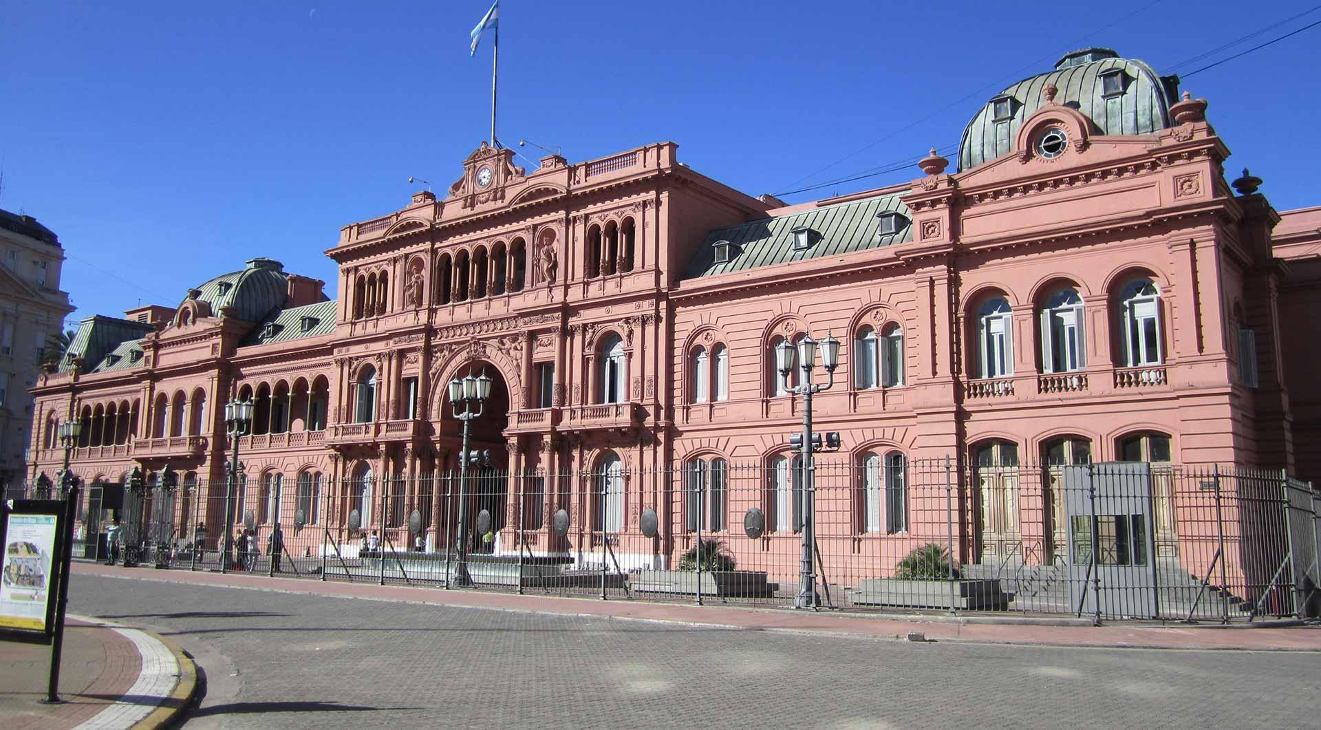 Un poco de historia de Buenos Aires La Casa Rosada