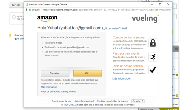 Compra Amazon® Pay