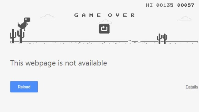 Trex Game Chrome