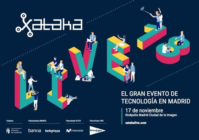 Premios Xataka 2018: sigue todas las mesas redondas y la gala de los Premios Xataka con nosotros