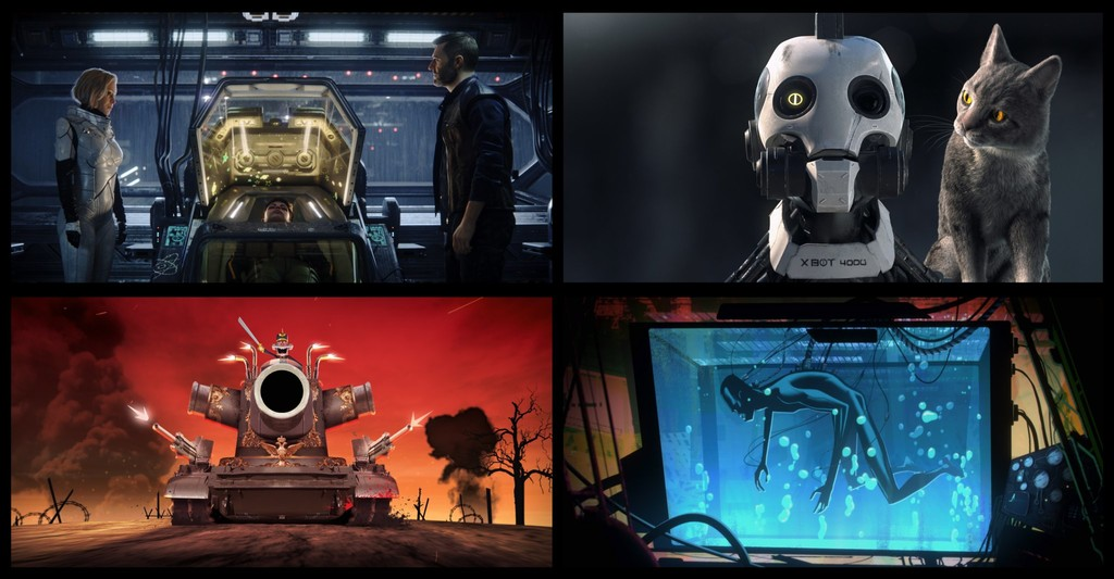 Permalink to 'Love, Death + Robots': una salvajada visual que prepara Netflix y David Fincher en forma de 18 cortos de animación para adultos