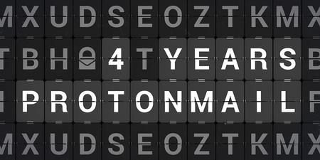 Protonmail 4 Years Indiegogo Anniversary