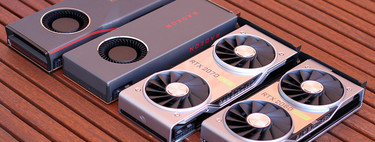 NVIDIA GeForce RTX 2060/2070 SUPER vs AMD Radeon RX 5700/XT, comparativa: la guerra de las tarjetas gráficas ha resucitado
