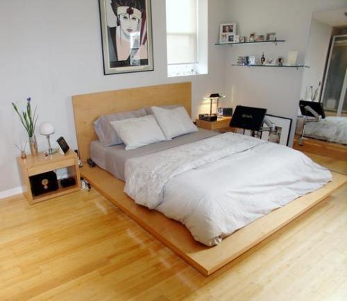 Las camas con maderas que sobresalen no son tan prcticas