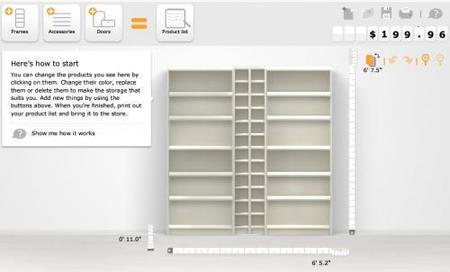 Construye Tu Propia Estantería Con Billy Planner De Ikea