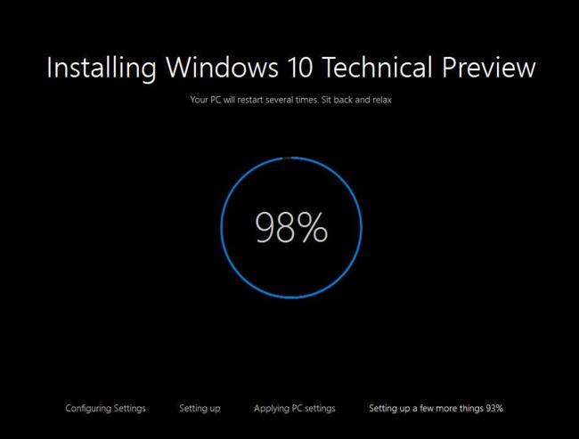 Windows10 10041 Installing