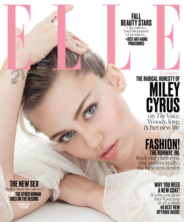 Elle USA: Miley Cyrus