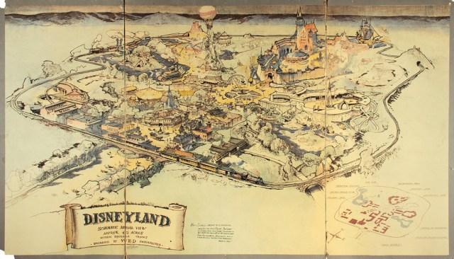 Mapa Disney