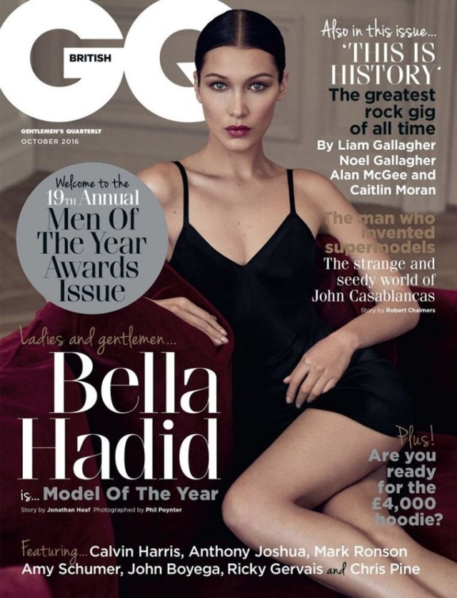 GQ UK: Bella Hadid