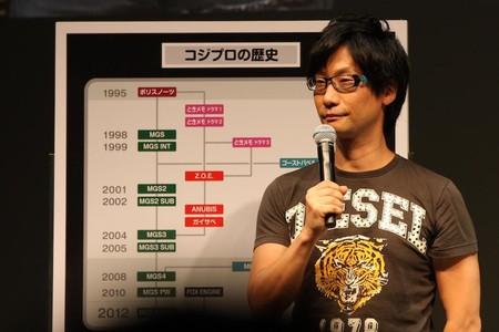 Hideo Kojima Tokyo Game Show 2011 1