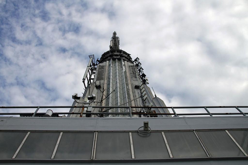 Permalink to La antena del Empire State: lo que pudo ser el aparcamiento de dirigibles más alto del mundo