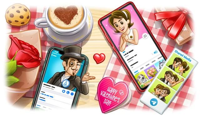 Telegram 5.15 añade nuevos perfiles de usuario e integra