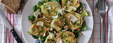 Soğuk Sonbahar Günleri için Mükemmel 19 Hızlı ve Kolay Sıcak Salata Tarifleri