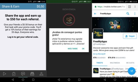 Referred Android Apps