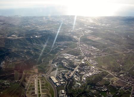 Parque Tecnologico De Andalucia View From A Plane Andalucia Spain