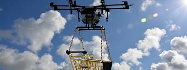 Walmart y Amazon mantienen una carrera de patentes para liderar el desarrollo de drones de reparto (y Amazon parece ir perdiendo)