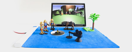 the surface that recognizes what you put to unite physical and digital world