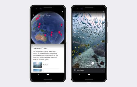 Google Earth Mundo Submarino Movil