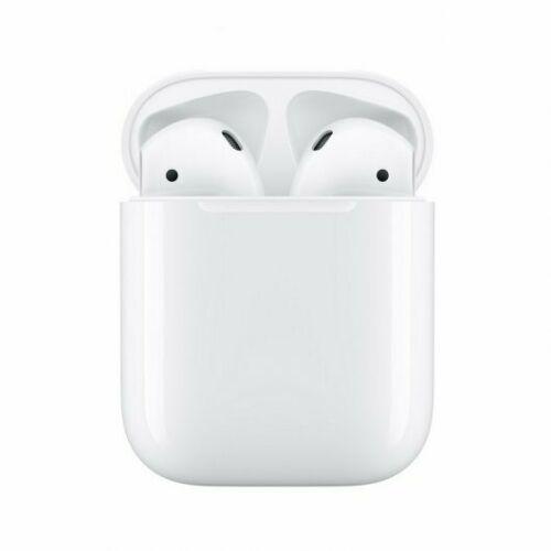 Detalles de  Apple Airpods V2 Auriculares Inalámbricos con Estuche de Carga