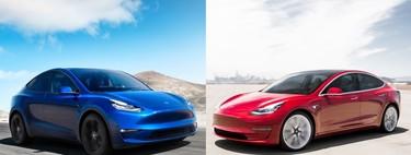 Tesla Model Y vs Model 3: comparamos los nuevos SUV y sedán de Tesla para conocer cuál es su mejor coche eléctrico