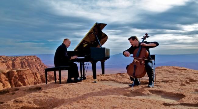 Banda sonora 7 maravillas mundo Piano Guys