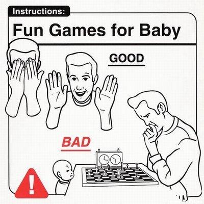 Manual de instrucciones para el cuidado de los bebés
