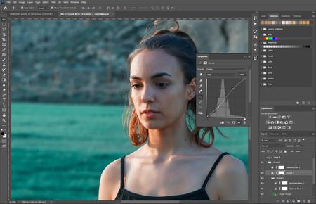 Contraste de tono en pieles en photoshop