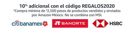 Promoción bancaria de Amazon México para las ofertas de Navidad