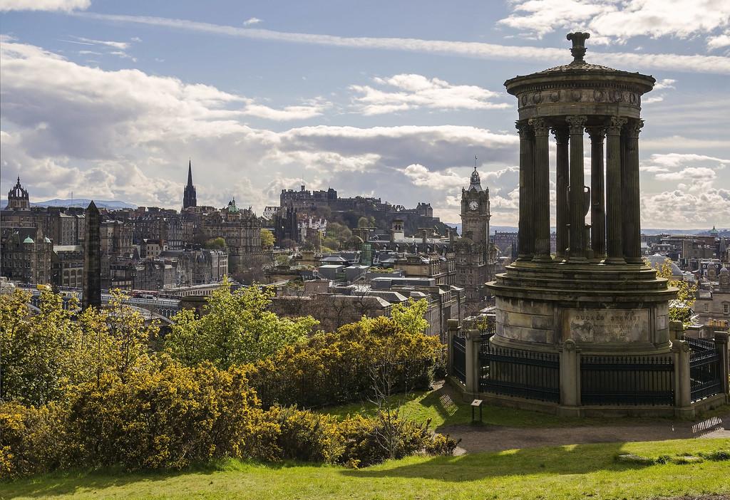 Calton Hill, las mejores vistas sobre Edimburgo
