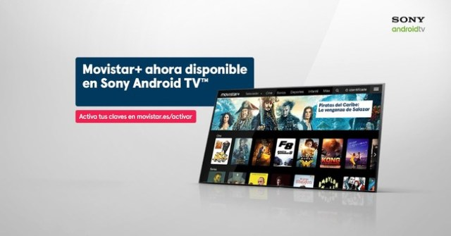 Las smart TV de Sony℗ desde 2015 ya son semejantes con la app de Movistar+