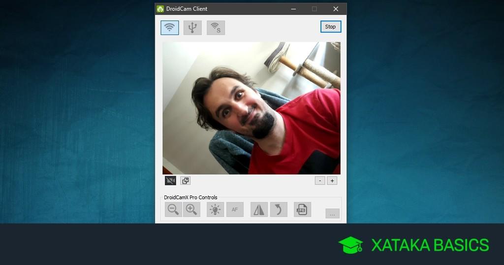 Cómo utilizar la cámara de tu movil Android® como webcam en tu computador con Windows