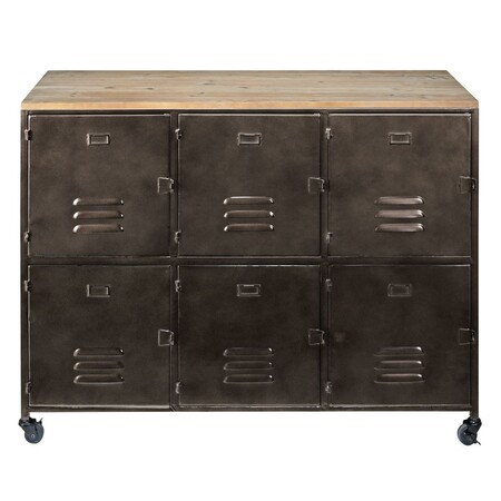 Sideboard with wheels