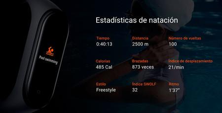 Xiaomi Mi Band 4 Natacion