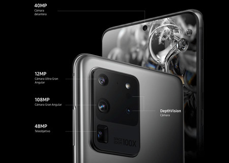 Samsung Galaxy S20 Ultra Camaras Traseras