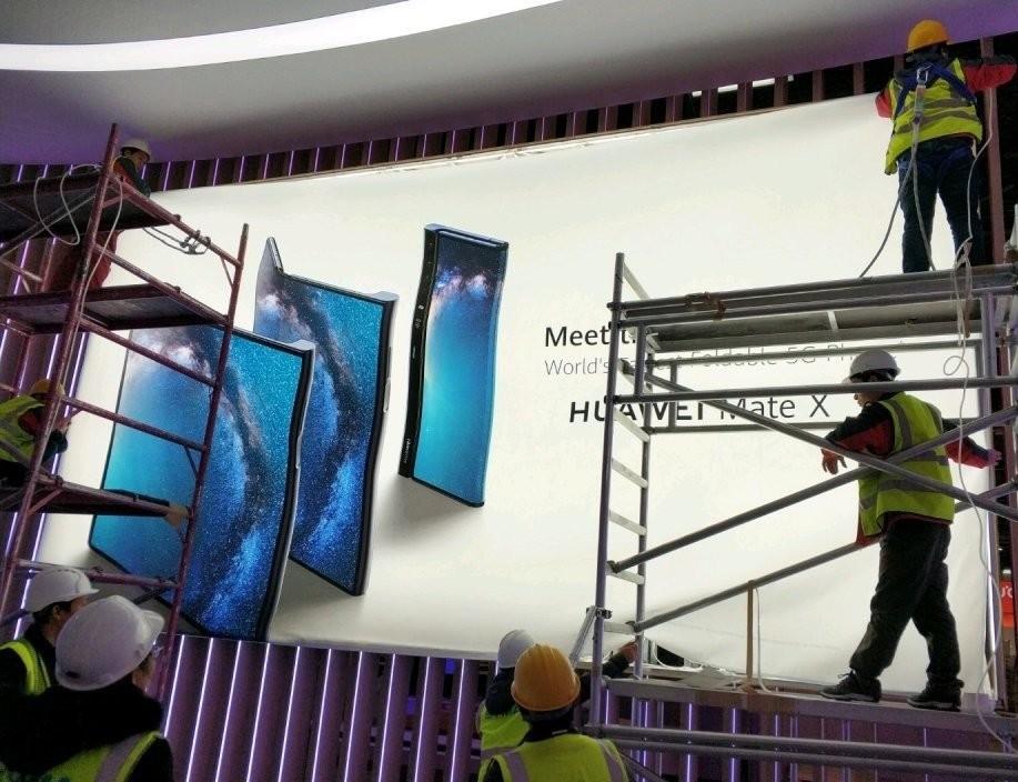 Permalink to Aquí está la primera imagen del Huawei Mate X, el que será el primer smartphone plegable y con 5G de la compañía