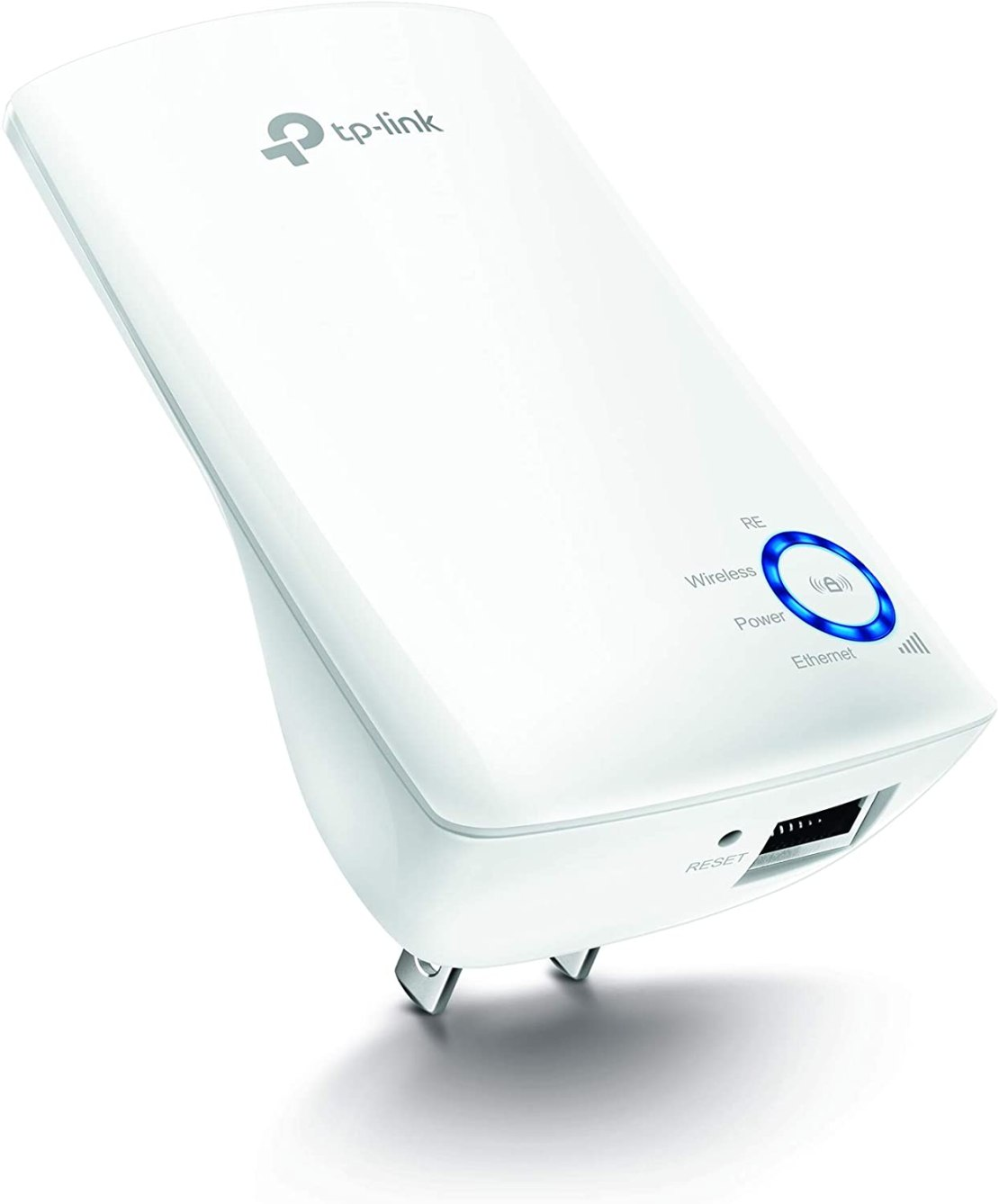 TP-LINK TL-WA850RE, repetidor de Wi-fi inalámbrico, 300Mbps, tipo plug and play con puerto Ethernet