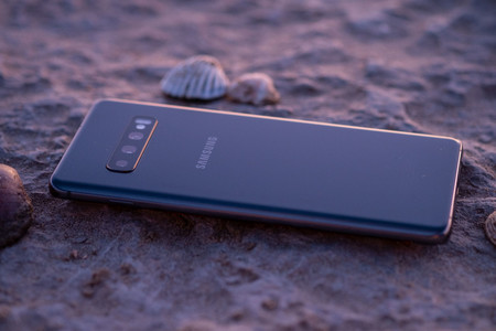 Trasera del Samsung Galaxy S10