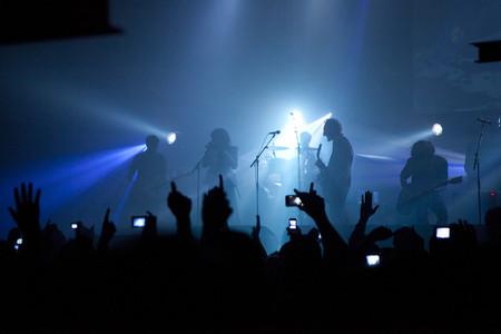 Los Planetas en uno de sus conciertos.