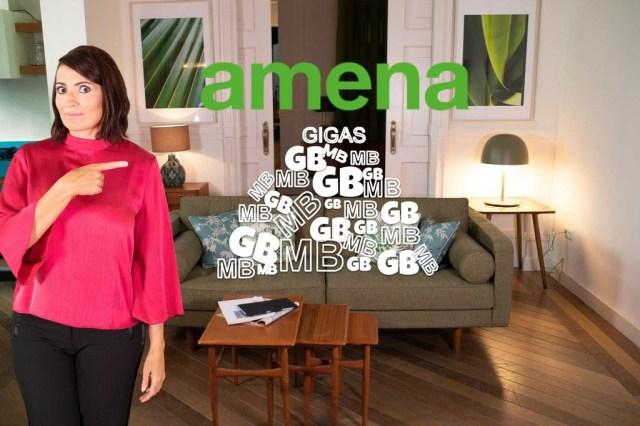 Amena retoma su promo con gigas extra gratis: hasta 50 GB por 24,95 euros