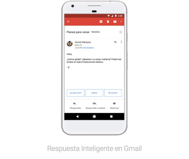 Smart Reply In Gmail Spanish