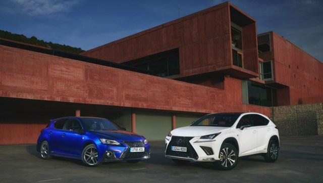 Lexus NX 300h y Lexus CT 200h 2018