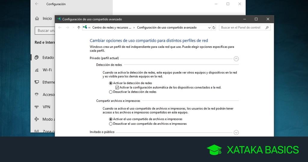 Cómo inventar una red local en Windows diez sin usar el Grupo de Hogar