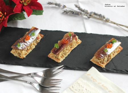 Cocas de sardinas y cuscús
