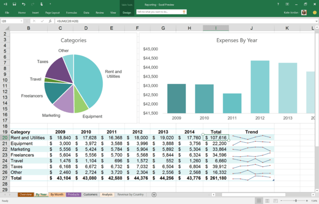 Office 2016 Public Preview Now Available 2 1