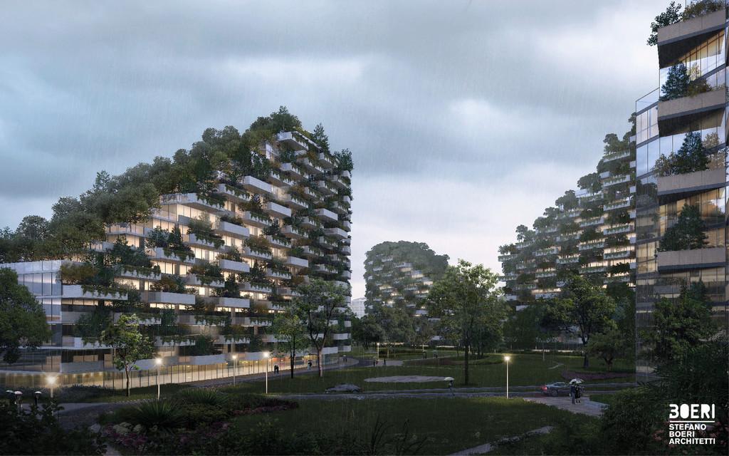 Stefano Boeri Architetti Liuzhou Forest City Human View Copy