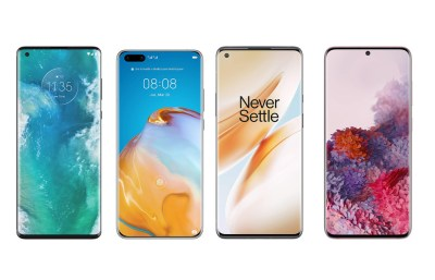 Motorola Edge+ vs Samsung Galaxy S20+ vs OnePlus 8 Pro vs Xiaomi Mi 10 y más: así queda frente a la gama alta de 2020