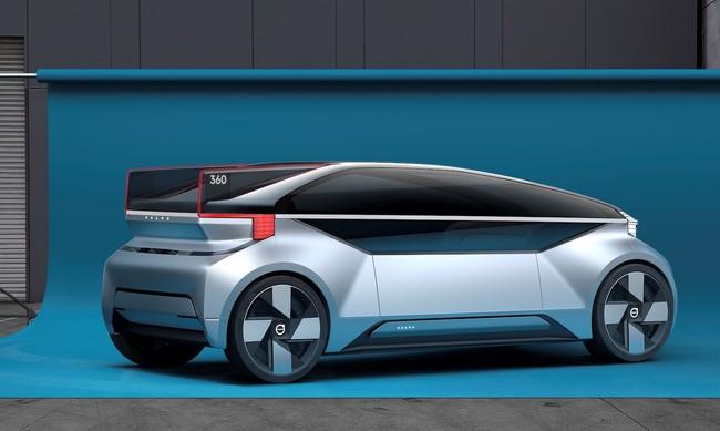 Permalink to Volvo cree que su futuro coche autónomo será una habitación sobre ruedas con cama incluida