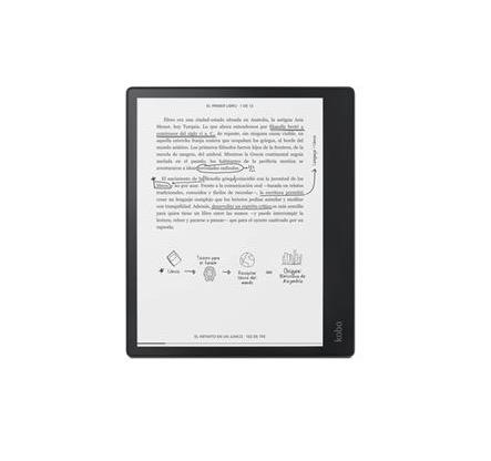 Libro electrónico E-Reader Kobo Elipsa 10,3'' Negro + Stylus + Funda Pack